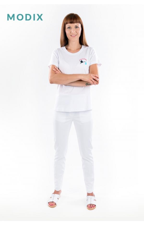 T-shirt - Haft Położna Model 04